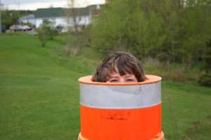 Charles dans le cône